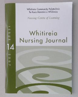 Whitireia Nursing Journal
